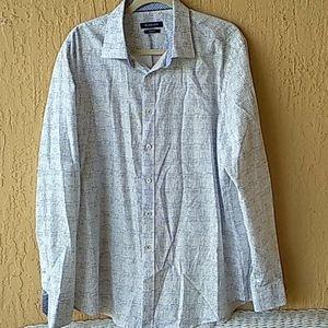 Bugatchi long slv mens buttondown shirt